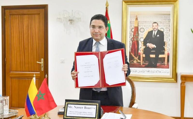 بلاغ مشترك | كولومبيا تدعم سيادة المغرب على صحراءه ووحدته الترابية