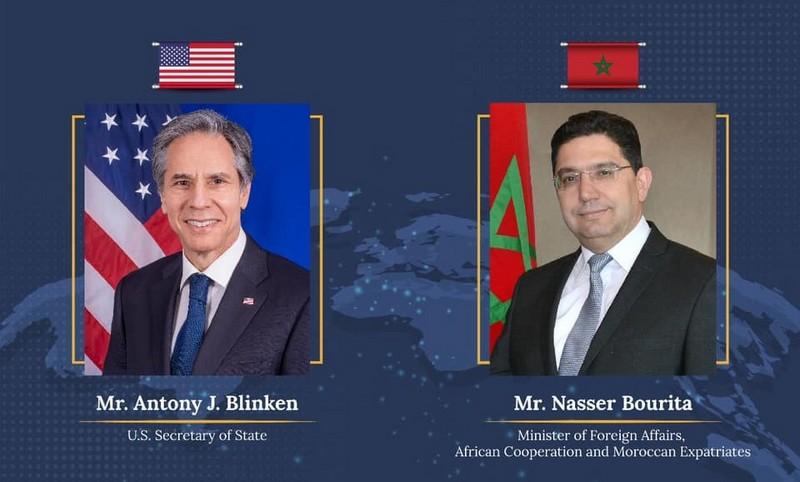 اتصال بين بوريطة وبلينكن.. المغرب وأمريكا يتباحثان أمن المنطقة والعلاقات مع إسرائيل