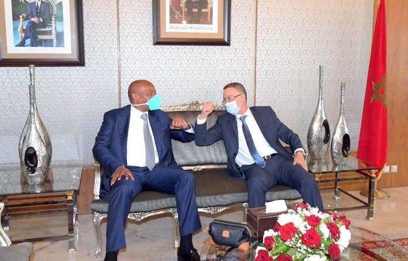 رئيس الـCAF يلتقي لقجع بالمغرب: هدفنا رفع الكرة الأفريقية إلى أعلى المراتب العالمية