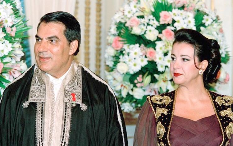هذه تفاصيل حبس زوجة الراحل بن علي 'ليلى الطرابلسي' وابنته 6 سنوات