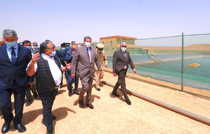 أخنوش يتفقد برامج ومشاريع تنموية فلاحية مهمة بإقليم الراشيدية