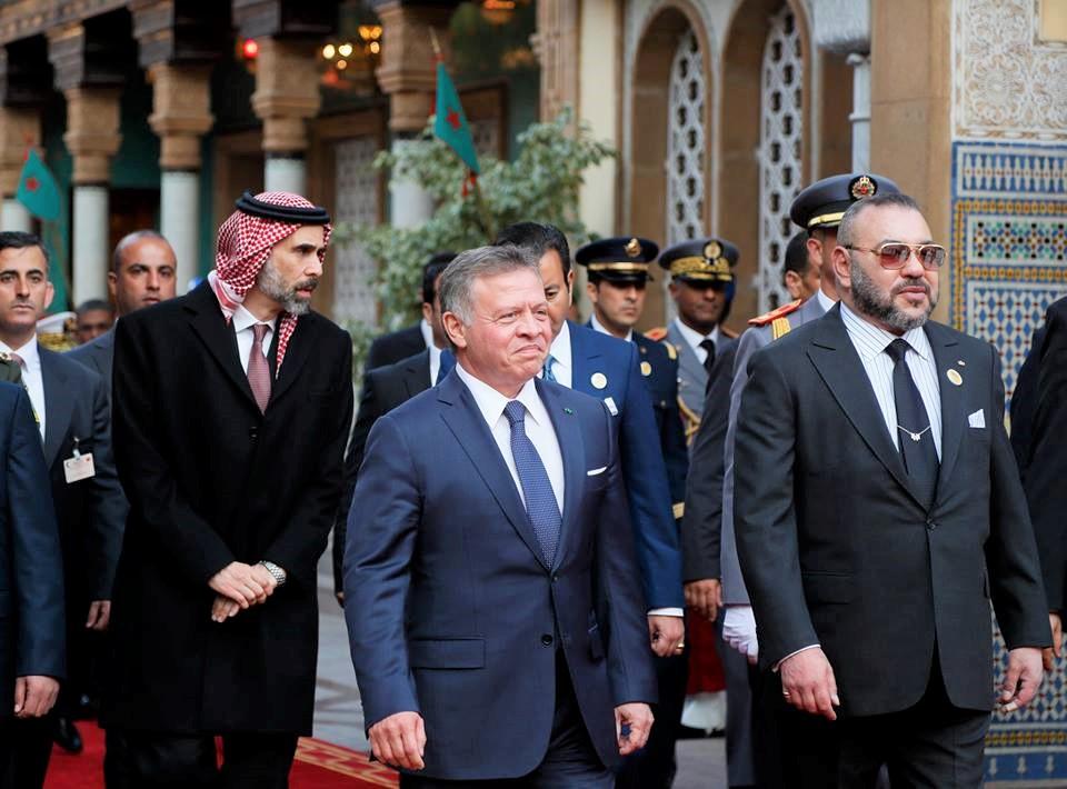 الملك محمد السادس يعزي العاهل الأردني في وفاة عمه الأمير بن طلال