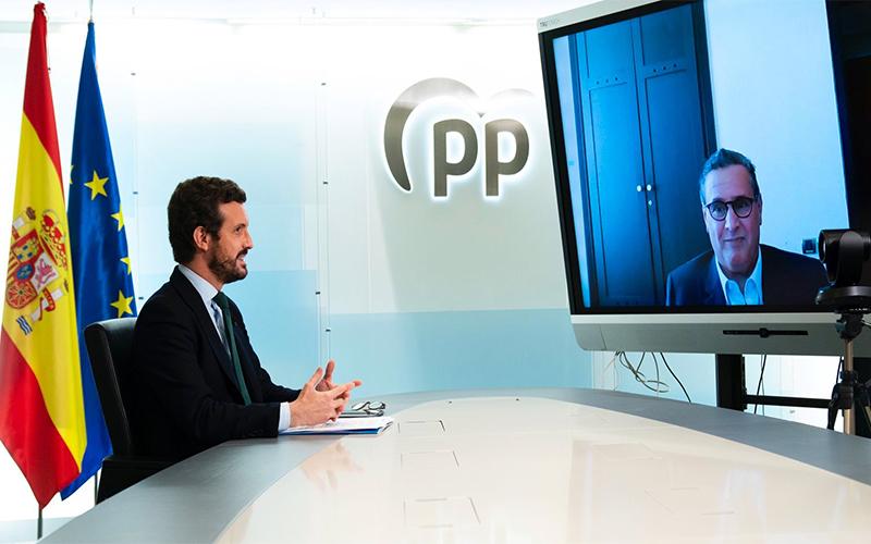 بعد لقائه بأخنوش.. الحزب الشعبي يطالب مدريد بتوضيحات حول استقبال زعيم 'بوليساريو'