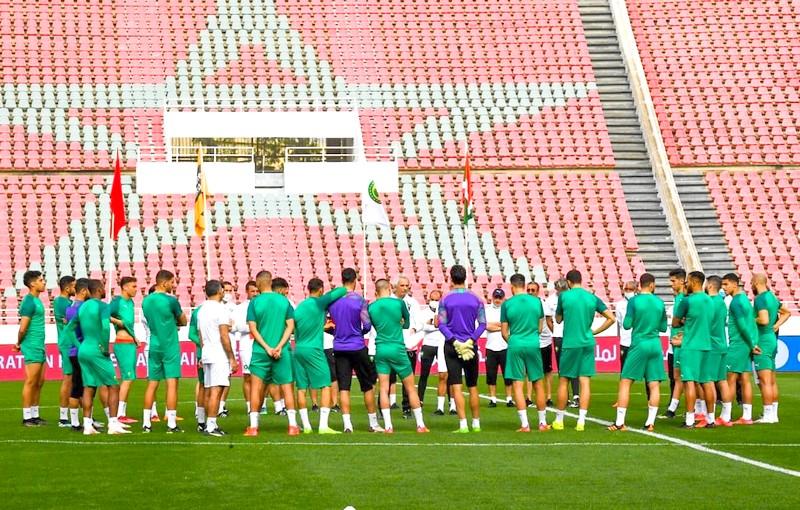 إقصائيات مونديال قطر   المنتخب الوطني يتدرب بالمعمورة استعداداً للسودان وغينيا