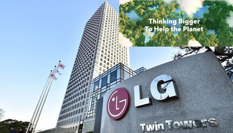 """LG تقلل من استخدام البلاستيك بفضل مبادرة """"صفر كربون 2030"""""""