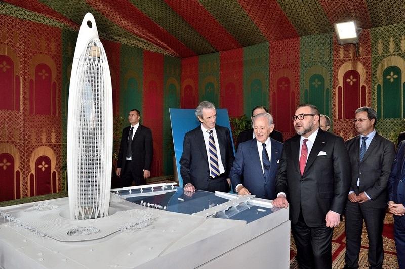 الأعلى في إفريقيا.. أشغال إنجاز برج محمد السادس تبلغ 75 بالمائة
