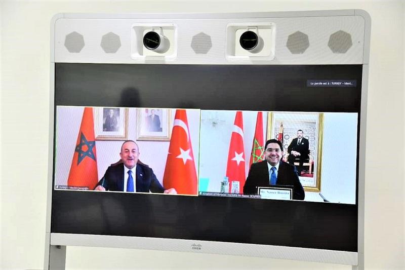 المغرب وتركيا يتفقان على تنظيم جلسات للحوار السياسي وعقد اللجنة المشتركة