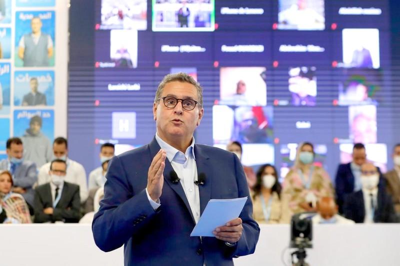'تستاهل أحسن'. أخنوش يكشف عن شعار 'الأحرار' في الانتخابات.. ويؤكد: المغاربة يستحقون الأفضل