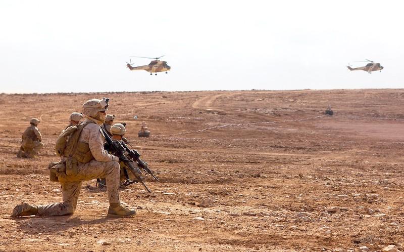 """بمشاركة بريطانيا وأمريكا.. مناورات """"الأسد الافريقي 21"""" تشمل الصحراء المغربية"""