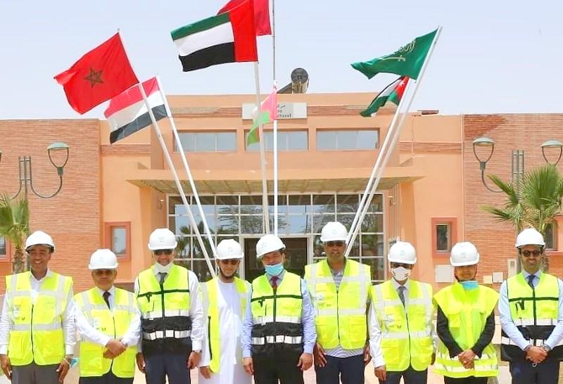 سفراء 5 دول عربية يزورون الأقاليم الجنوبية دعماً لسيادة المغرب على صحراءه