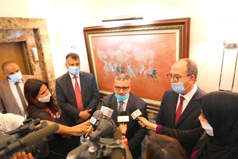 المشري من الرباط: هناك مساعي مغربية للتوافق حول ملفات ليبية عالقة