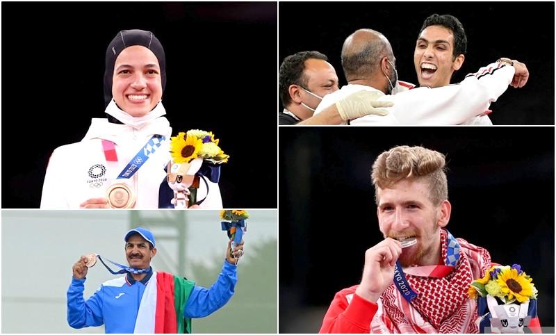 أولمبياد طوكيو   4 ميداليات عربية جديدة.. والمغرب: صفر إنجاز!