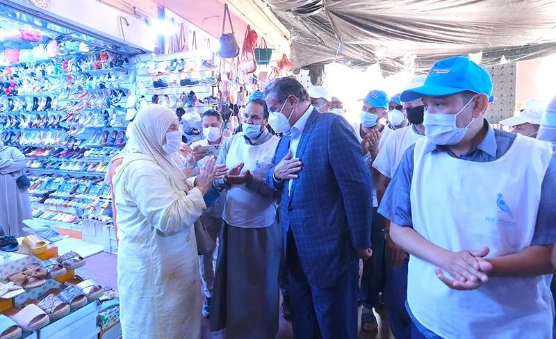 ساكنة 'عاصمة سوس' يتجاوبون بإيجابية كبيرة مع جولة أخنوش الميدانية