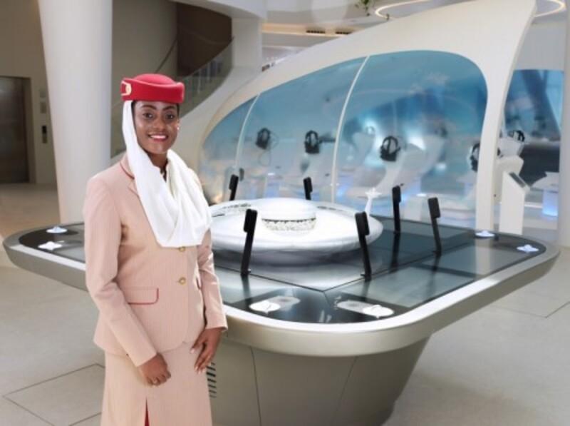 جناح طيران الإمارات جاهز لاستقبال زوار إكسبو 2020 دبي