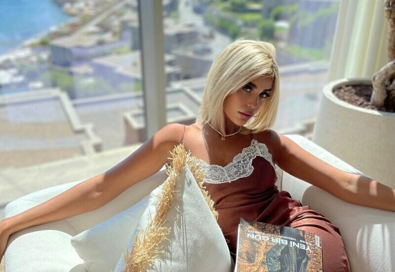 كريمة غيث تغازل اسطنبول بعمل فني جريء