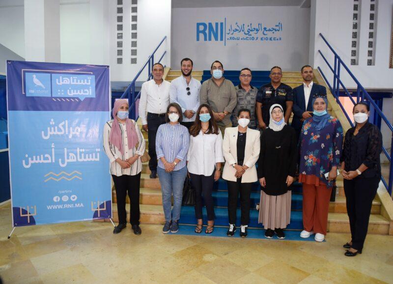 أساسها الشباب والكفاءة.. 'الأحرار' يقدم وكلاء اللوائح الانتخابية بمدينة مراكش