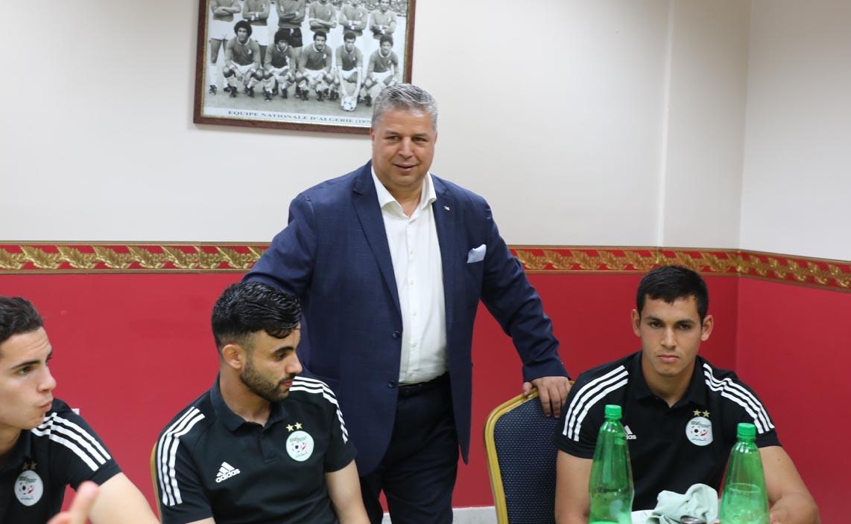 رئيس الاتحاد الجزائري يثني على الاستقبال المغربي: كأننا سنلعب في بلدنا الجزائر