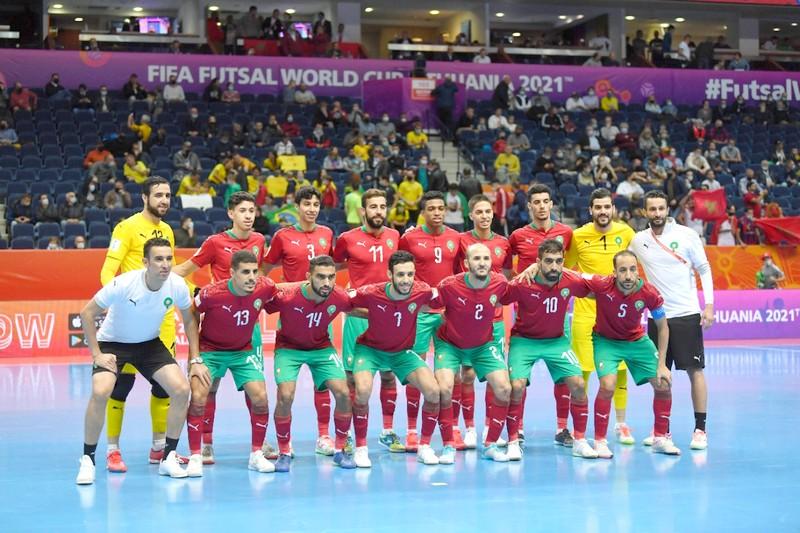 """المنتخب الوطني لـِ""""الفوتسال"""" يخرج من 'مونديال ليتوانيا' على يد البرازيل"""