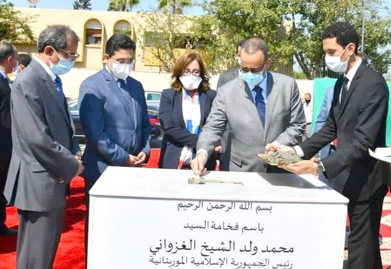 موريتانيا تبني سفارتها الجديدة بالرباط.. والوزير ولد الشيخ: علاقتنا بالمغرب تتطور باستمرار