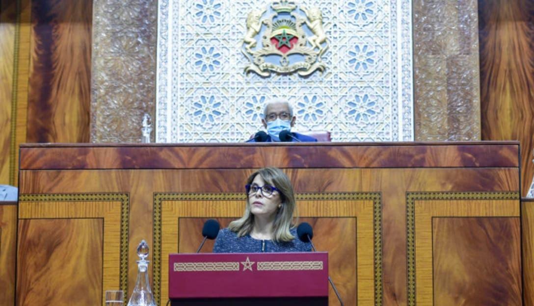 فاطمة خير في أول كلمة داخل قبة البرلمان: الفنان هو مرآة المجتمع