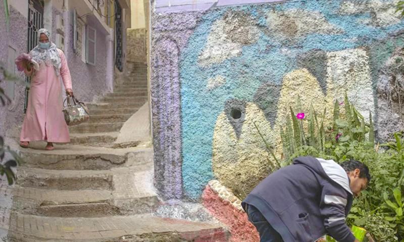 'نداء الروح في زمن كورونا' معرض مغربي يقلب عتمة الحجر الصحي إلى ومضات فنية