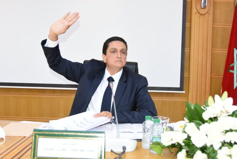 مجلس جهة طنجة يصادق بالأغلبية المطلقة على نظامه الداخلي.. ومورو: إشارة قوية