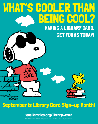 Free Webinar How To Leverage Snoopy To Run A Library Card