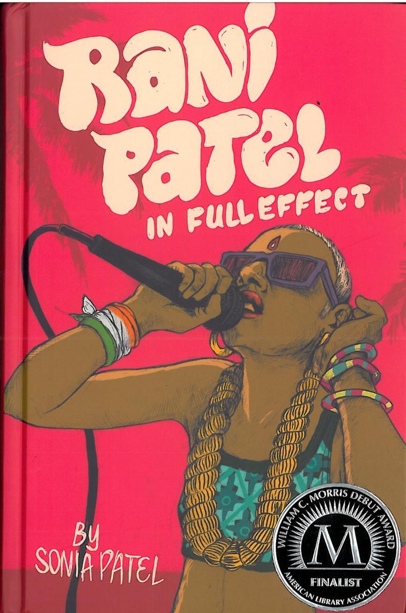 Book cover, Rani Patel In Full Effect