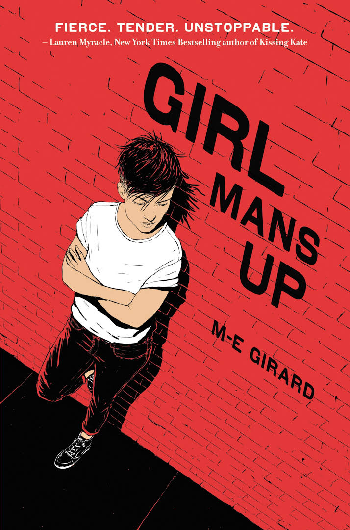 Book cover, Girl Man's Up