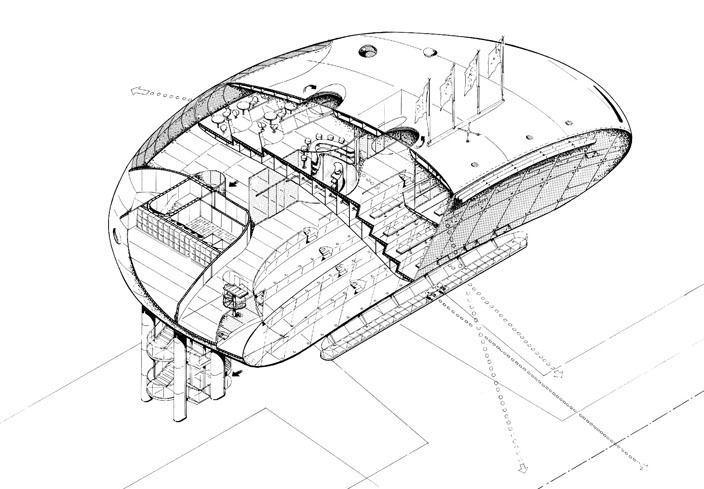 Exhibition of Jan Kaplický Drawings at the Architectural