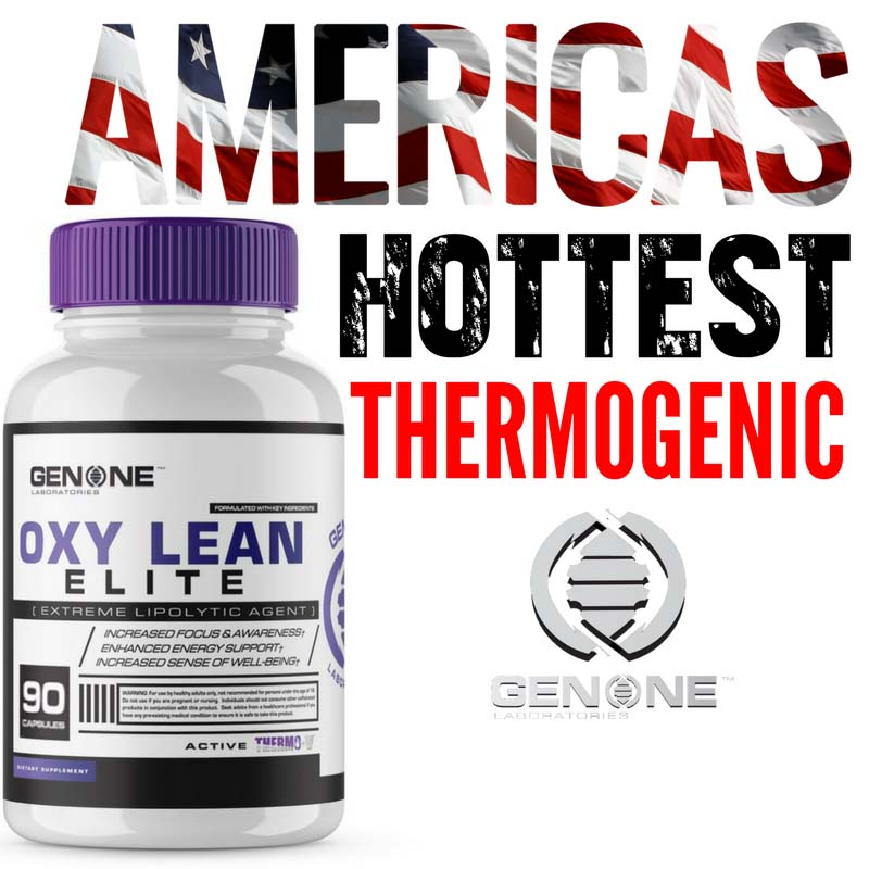 Genone OXY Lean ELITE (Oxy Shredz) Original Fat Burner ENERGY Focus 90 caps