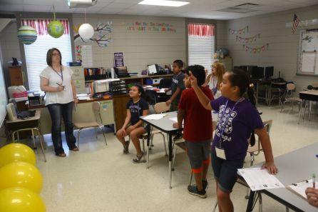 Students participate in summer learning. (Karim Shamshi-Basha/Alabama NewsCenter)