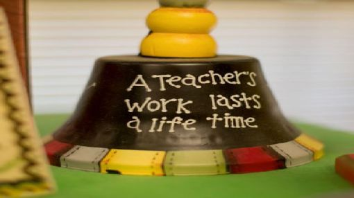 """""""A teacher's work lasts a life time."""" (Photo courtesy of UAB)"""
