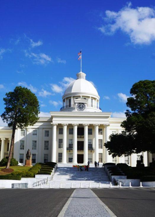 Alabama State Capitol, Montgomery. (Erin Harney / Alabama NewsCenter)