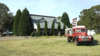 Morgan Creek Vineyards in Harpersville. (Chad Allen / Alabama NewsCenter)