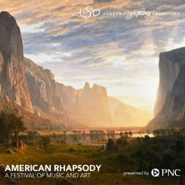 """""""American Rhapsody"""" was a collaboration between the Alabama Symphony Orchestra and the Birmingham Museum of Art. (Alabama Symphony)"""
