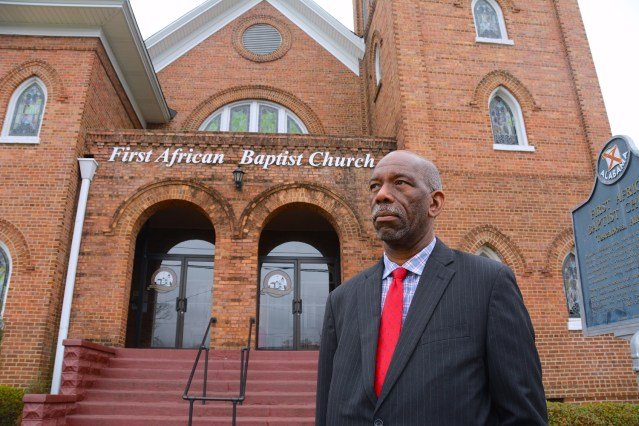 Tim Lewis and the Tuscaloosa Civil Rights Task Force are dedicated to keeping the city's civil rights history and landmarks from being forgotten. (Karim Shamsi-Basha/Alabama NewsCenter)