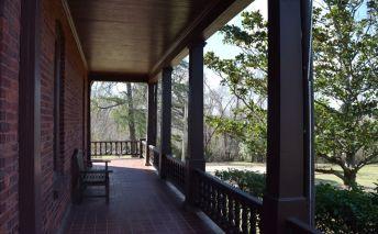 The home's wrap-around veranda. (Donna Cope/Alabama NewsCenter)