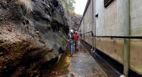 Officials inspect Alabama Power's Smith Dam. (Wynter Byrd / Alabama NewsCenter)