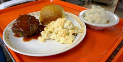 Meatloaf and mac at Johnny's. (Brett Forsyth)