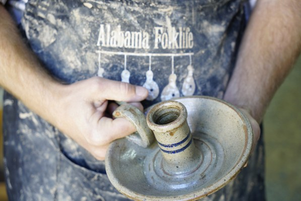 A Miller's Pottery creation. (Mark Sandlin / Alabama NewsCenter)