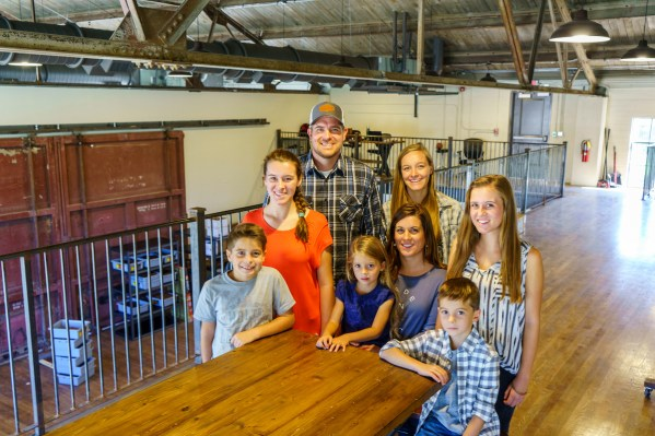 Better days are here for the Holtz Family, with Holtz Leather rapidly making its mark. (Mark Sandlin / Alabama NewsCenter)