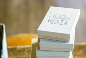 Holtz Leather likes to give its customers a little something extra with their purchases. (Mark Sandlin / Alabama NewsCenter)