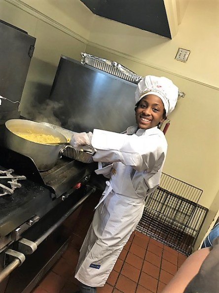 Sydney Coney wanted to serve the homeless a meal for her birthday. (contributed)