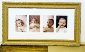 In addition to framing and selling art, Shadow Catchers provides mounting and framing services for customers' photographs and art. (Mark Sandlin / Alabama NewsCenter)