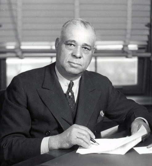 Chambers County native Arthur Wergs Mitchell (1883-1968) was a controversial figure who promoted education in rural parts of the state while at the same time defrauding parents and business partners for labor and money. After leaving Alabama to escape fraud charges, he entered into a successful political career in Chicago. (From Encyclopedia of Alabama, courtesy of Library of Congress)