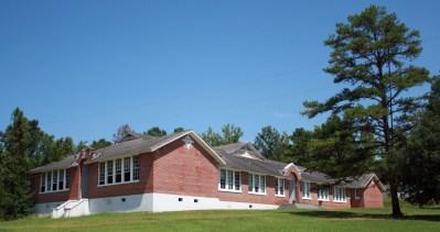 Snow Hill Institute near Snow Hill, Wilcox County, 2009. (Altairisfar; Wikipedia)