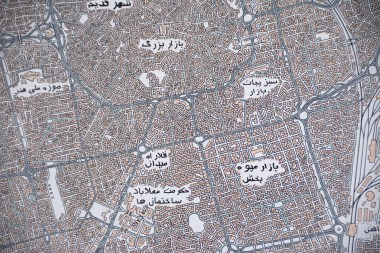 This map depicts an imaginary place in a real country, the United Arab Emirates. (Karim Shamsi-Basha / Alabama NewsCenter)