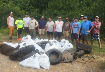 Alabama Power volunteers and others will hold multiple Renew Our Rivers cleanups this spring. (file)