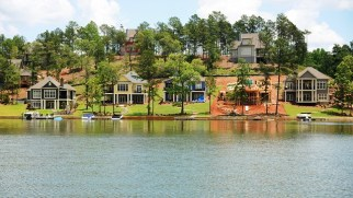 Lake Martin is the only major housing market in the state with a median home price above the national average. (File)